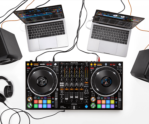 Meet the DDJ-1000SRT Club-style 4-channel performance DJ controller