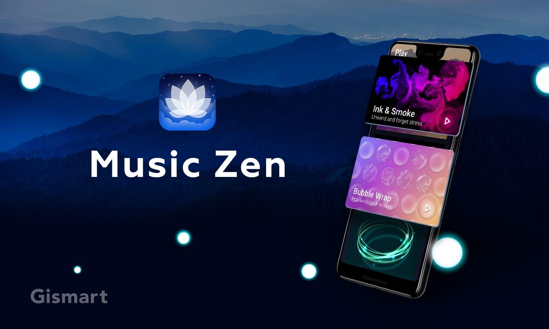 Chart-topping, award-winning meditation app Music Zen debuts
