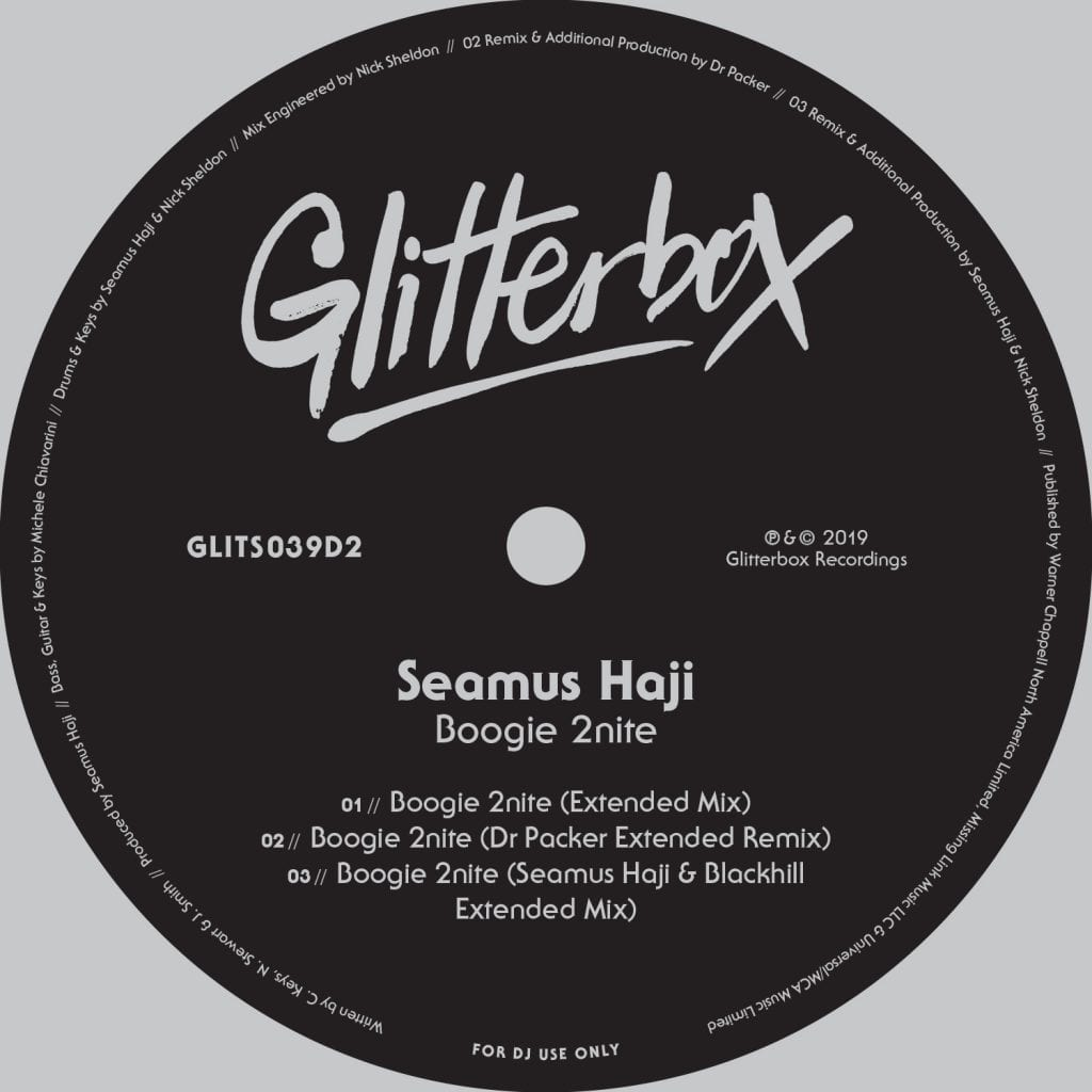 Seamus Haji – Boogie 2nite