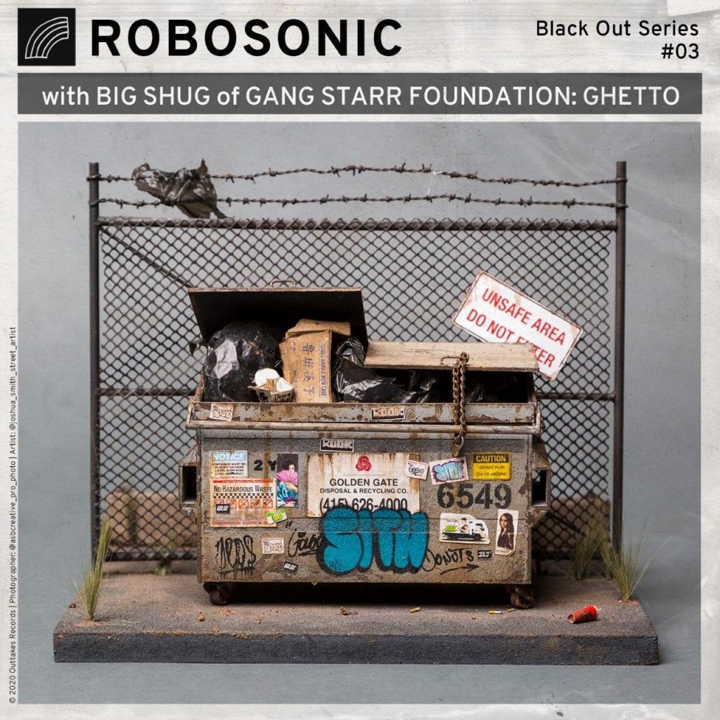 Robosonic teams up with Gang Starr Foundation's Big Shug on 'Ghetto'